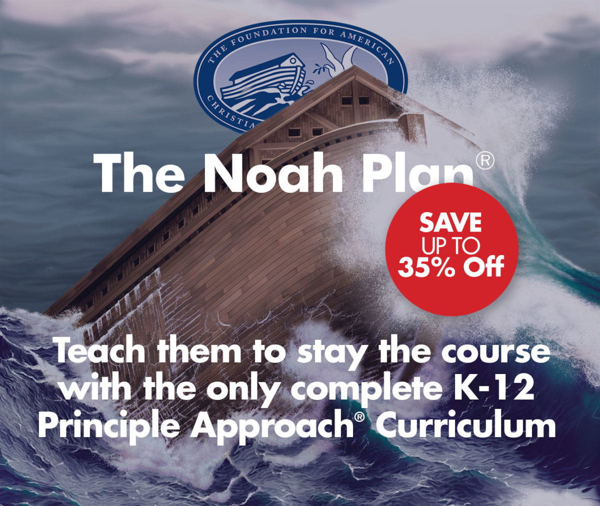 The Noah Plan curriculum places the Bible at the heart of every subject.