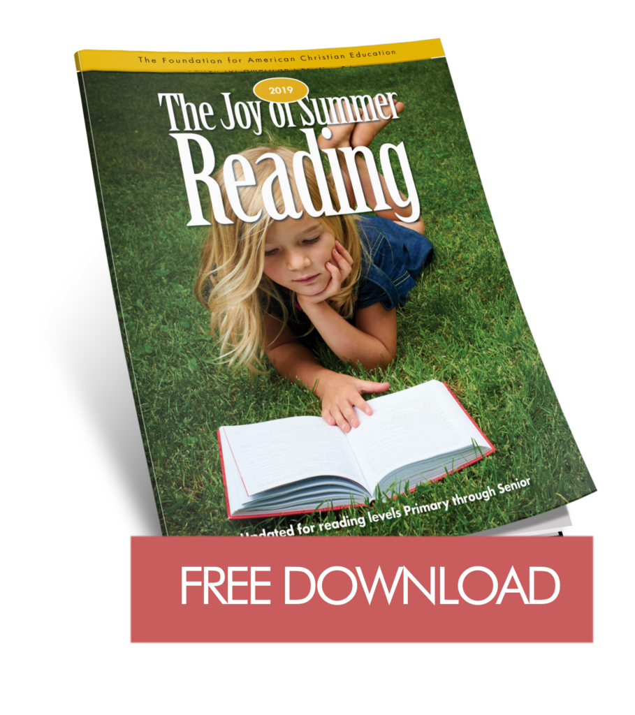 The Joy of Summer Reading - The Foundation for American Christian