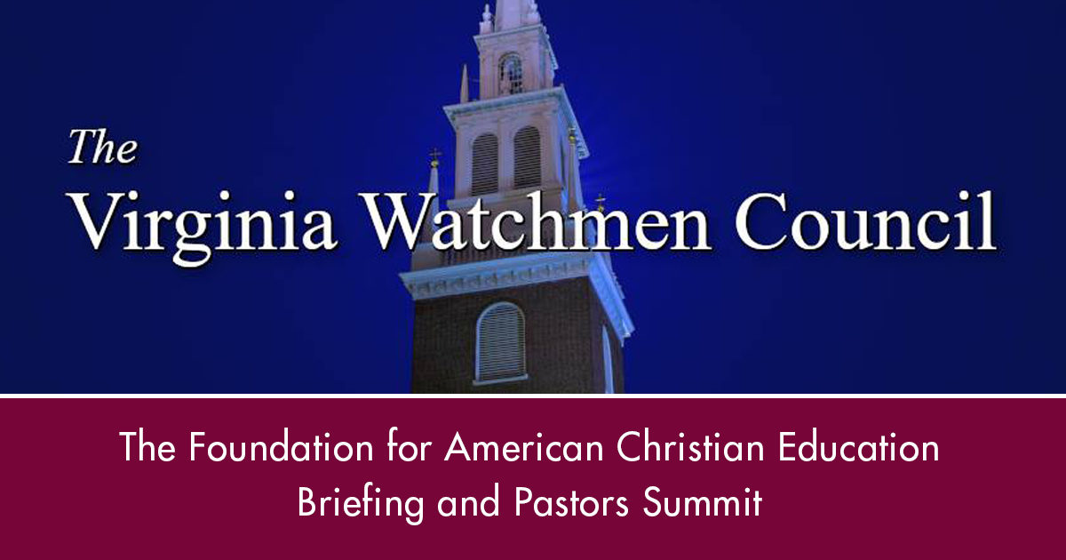 Briefing and Pastors Summit August 8. Register today.