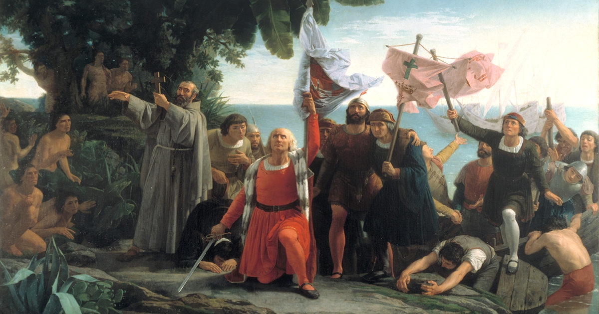 Columbus Advanced the Gospel Westward