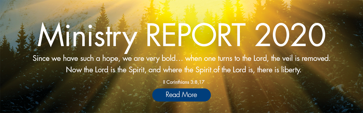 Ministry Report Banner WEB