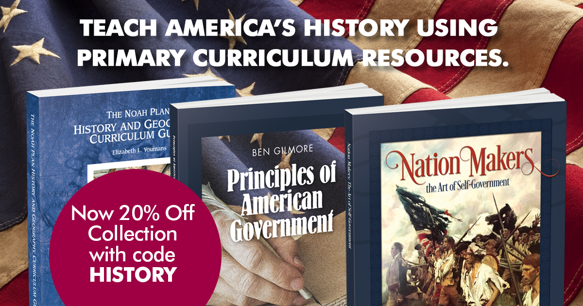 Teach your children the truth about America's history from primary resources.