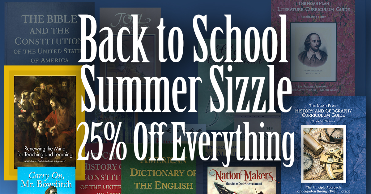 Save on everything in our bookstore through August 8.